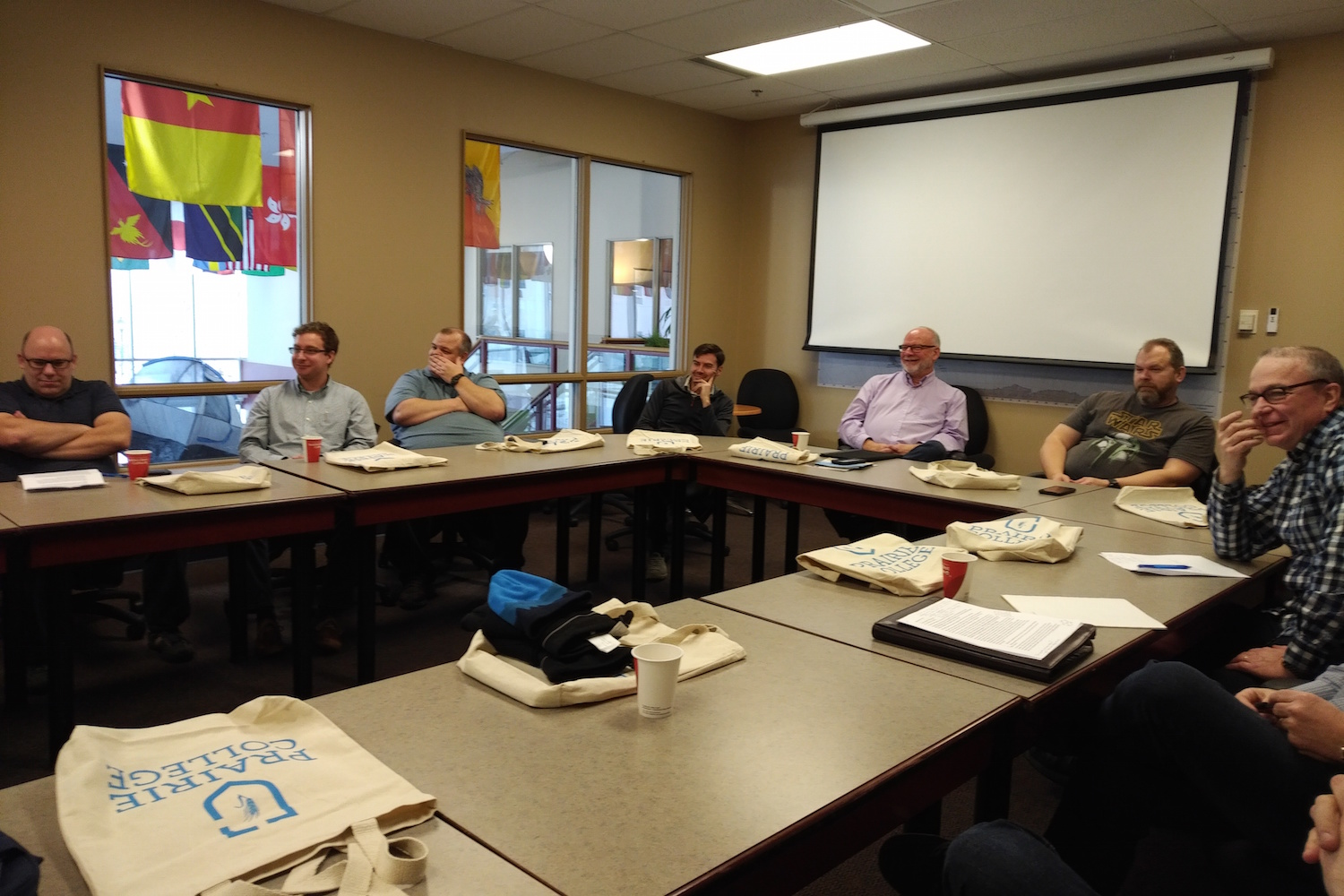Central Cluster Meeting at Prairie Bible College